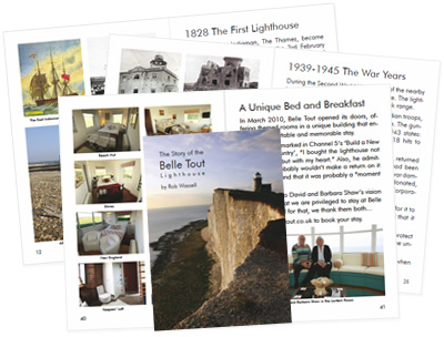 A Preview of The Story of the Belle Tout Lighthouse by Rob Wassell